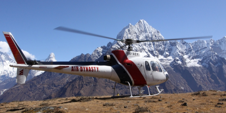 Mustang Helicopter Tour in Nepal