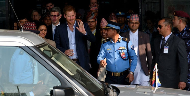 Humble British prince, prince  Harry visit to penal: 'The people and the beauty of this country make it very hard to leave'