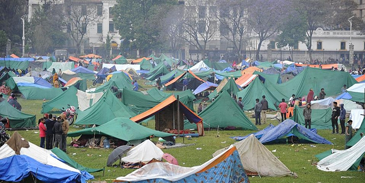 Kathmandu: City of Temples Turned into City of Tents